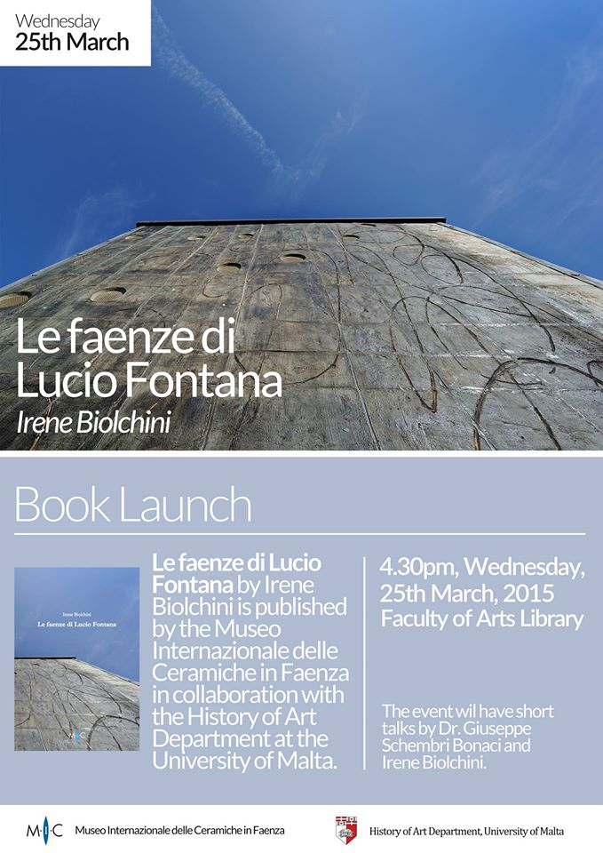 Irene Biolchini book launch