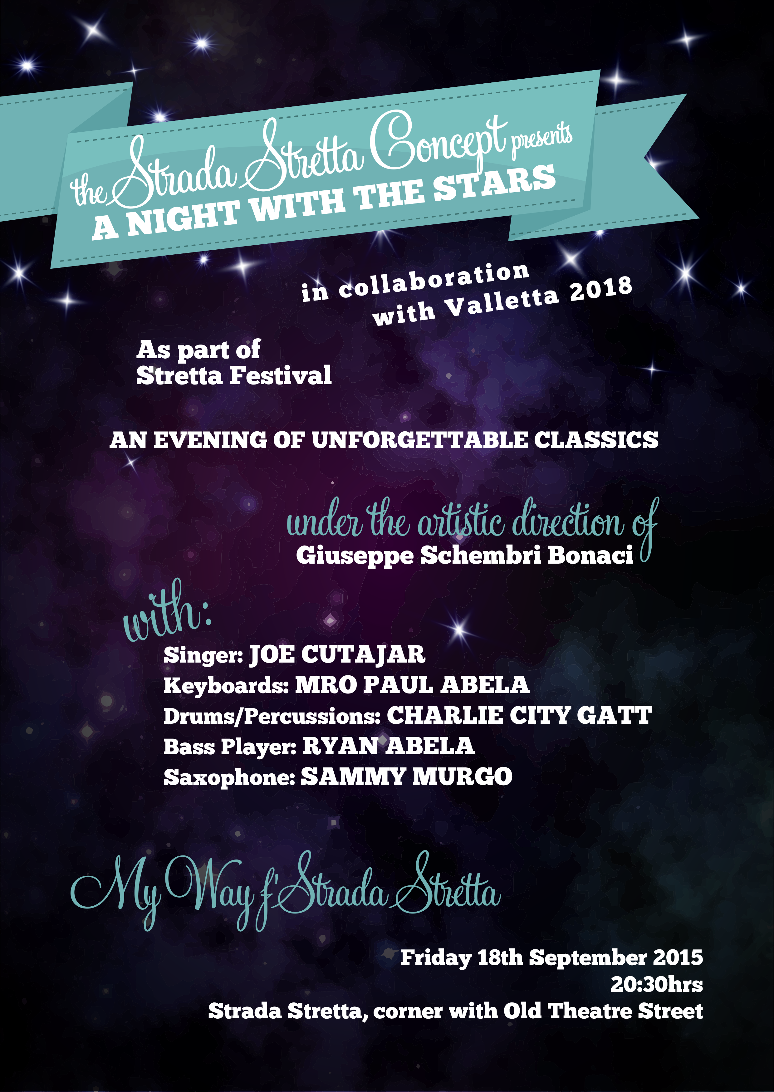 Night with the Stars Poster 1