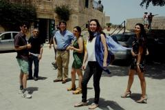 The Mdina Biennale Action Group with Paul Gordon and Marie Claire Pearman from CARAVAN