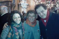 Russian Artist Gor Chahal visits Malta (with Giuseppe Schembri Bonaci and Frederica Agius)