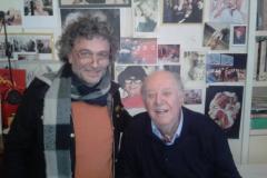 Giuseppe Schembri Bonaci visits Dario Fo in Milan